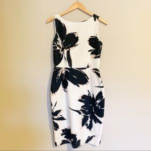 MaxMara Floral Print Dress-Size 8